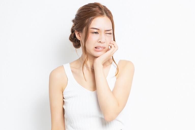 歯肉の急性炎症緩和